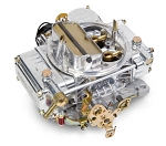 NEW Holley Carburetor, 750 CFM, Electric Choke, Polished Aluminum