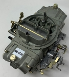Remanufactured Holley Carburetor, Double Pumper, 600 CFM with Manual Choke, Dichromate Finish