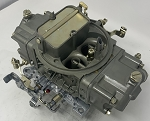 Remanufactured Holley Carburetor, Double Pumper, 700 CFM with Manual Choke, Dichromate Finish