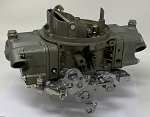 Remanufactured Holley Carburetor, Double Pumper, 850 CFM with Manual Choke, Dichromate Finish