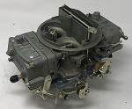 Remanufactured Holley Carburetor, 650 CFM with Divorced Choke, Spreadbore Design, Dichromate Finish
