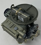 Remanufactured Holley Marine Carburetor, 300 CFM with Electric Choke, Dichromate Finish