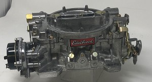 Remanufactured Edelbrock Marine Carburetor, 750 CFM with Electric Choke