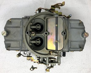 Remanufactured Holley Carburetor, Double Pumper, 650 CFM with Manual Choke, Dichromate Finish